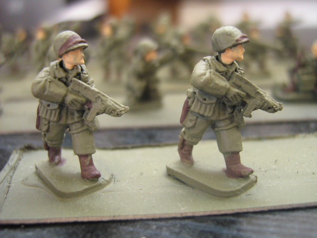 Classic thompson MG troops